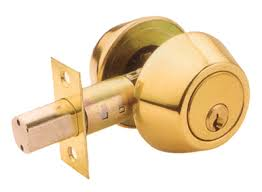 What is a deadbolt lock