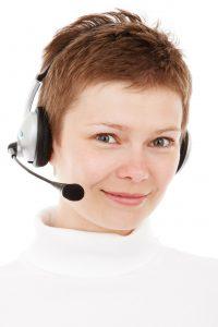 Locksmith call center representative